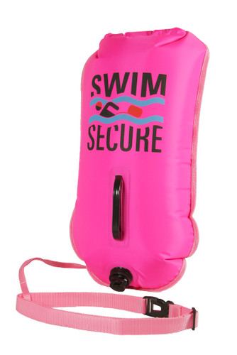 Swim Secure - Pink Inflatable Dry Bag