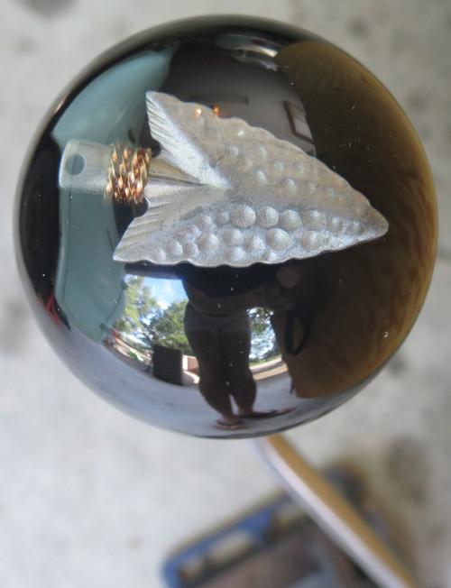 Shiny Metal Arrowhead Shift Knob