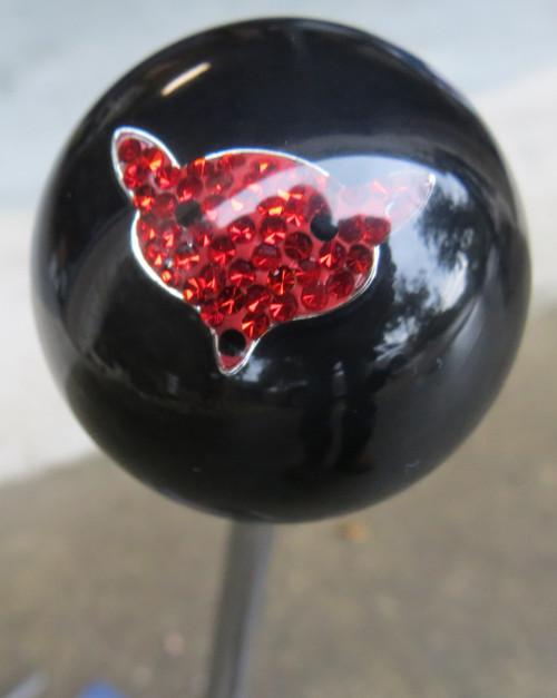 Jeweled Red Fox Shift Knob