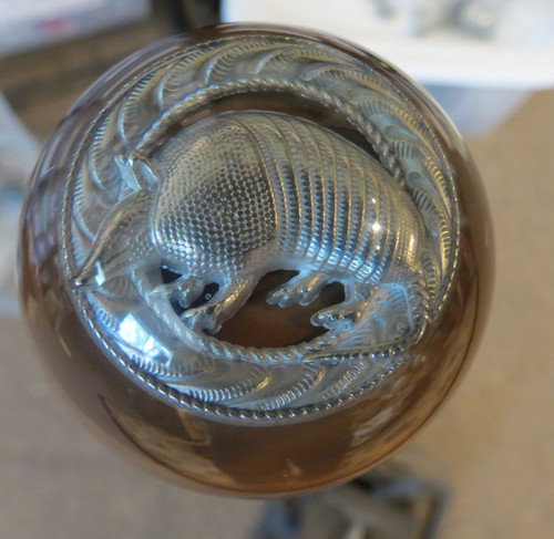 Pewter Armadillo Shift Knob