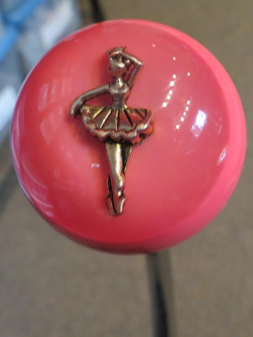 Ballet Dancer Hot Pink Shift Knob