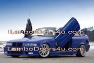 BMW E36 3 Series Vertical Lambo Doors Bolt On 2dr 4dr 91 92 93 94 95 96 97 98 99