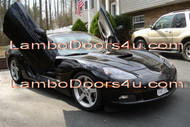 Chevrolet Corvette C6 Vertical Lambo Doors Bolt On 05 06 07 08 09
