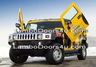 Hummer H2 Vertical Lambo Doors Bolt On 03 04 05 06 07 08 09 10