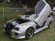 Honda Civic CRX Vertical Lambo Doors Bolt On 2dr 4dr 88 89 90 91