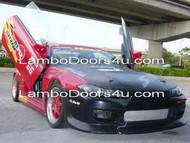 Nissan 180SX Vertical Lambo Doors Bolt On 89 90 91 92 93