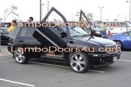 GMC Envoy Vertical Lambo Doors Bolt On 01 02 03 04 05 06