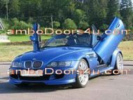 BMW Z3 Coupe Vertical Lambo Doors Bolt On 96 97 98 99 00 01 02
