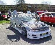 Mitsubishi Galant Vertical Lambo Doors Bolt On 92-98 7th Generation