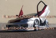 Chevrolet Cavalier Vertical Lambo Doors Bolt On 82 83 84 85 86 87