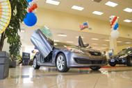 Hyundai Genesis Coupe 09-15 Vertical Lambo Doors Bolt On