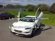 Mazda RX8 Vertical Lambo Doors Bolt On 03 04 05 06 07 08
