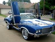 Oldsmobile Custom Cruiser Vertical Lambo Doors Bolt On 77 78 79 80 81 82 83 84 85 86 87 88 89 90