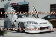 Honda DelSol Vertical Lambo Doors Bolt On 92 93 94 95 96 97 98