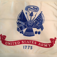 United States Army Flag Made in the U.S.A.