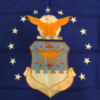 U.S. Air Force Flag. Made in U.S.A.