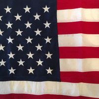 5'x9.5' Cotton (Best) American Flag 100% Made in U.S.A.