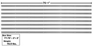 1947-50 CHEVROLET PICKUP SHORT BED STRIP KIT 47-50 8 PIECES *PAINTED*