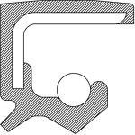 National Oil Seals 710218 Axle Seal