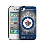 Winnipeg Jets iPhone 4/4s Hard Cover Case