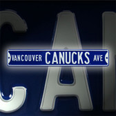 Vancouver Canucks Avenue Sign