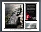 USS intrepid Milestones & Memories Framed Photo