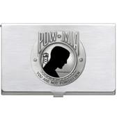 United States P.O.W. M.I.A. Business Card Case