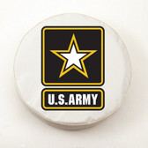 United States Army White Tire Cover, Large