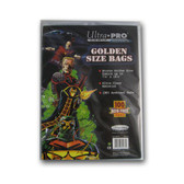 Ultra Pro Golden Size Bags, 7 5/8 x 10 ?? (100/pack)