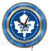 Toronto Maple Leafs Neon Clock