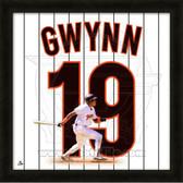 Tony Gwynn San Diego Padres 20x20 Framed Uniframe Jersey Photo