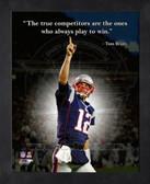 Tom Brady 11x14 Framed ProQuote Photo
