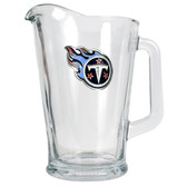 Tennessee Titans 60oz Glass Pitcher - Primary Logo