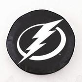 Tampa Bay Lightning Black Tire Cover, Large