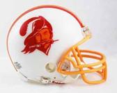 Tampa Bay Buccaneers 1976-1996 Throwback Riddell Mini Football Helmet