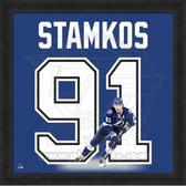 Steven Stamkos Tampa Bay Lightning 20x20 Framed Uniframe Jersey Photo