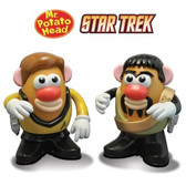 Star Trek Potato Heads Kirk and Kor