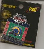 St. Louis Rams 2000 NFC Champions Pin