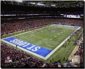 St Louis Rams Edward Jones Dome 2014 20x24 Stretched Canvas