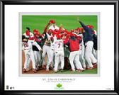 St Louis Cardinals 2006 World Series Champs Framed Photo