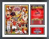 St Louis Cardinals 2006 Cardinals World Series Champs Milestones & Memories Framed Photo