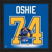 St Louis Blues T.J. Oshie 20x20 Framed Uniframe Jersey Photo