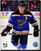 St Louis Blues T.J. Oshie 2014-15 Action 40x50 Stretched Canvas