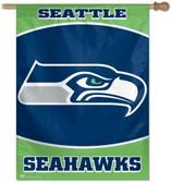 """Seattle Seahawks 27""""x37"""" Banner"""