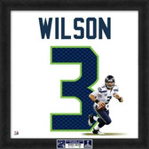 Seahawks Super Bowl XLVIII Russell Wilson Limited Edition of 48 20X20 Framed Uniframe Jersey Photo