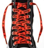 """San Francisco Giants Shoe Laces - 54"""""""