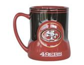 San Francisco 49ers Coffee Mug - 18oz Game Time