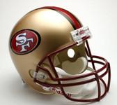 San Francisco 49ers 1996-2008 Throwback Riddell Deluxe Replica Helmet