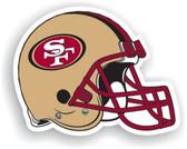 "San Francisco 49ers 12"" Vinyl Magnet Set Of 2"