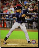 San Diego Padres Alexi Amarista 2013 Action 40x50 Stretched Canvas